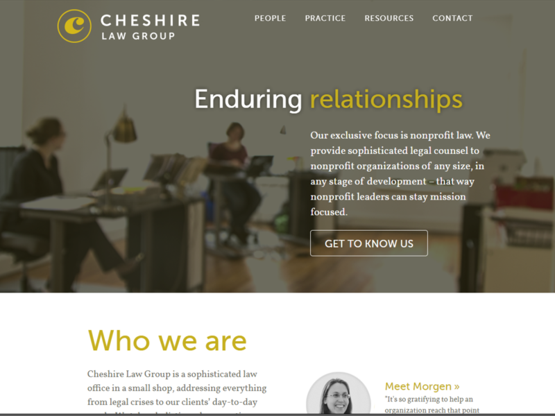 Cheshire Non Profit Law