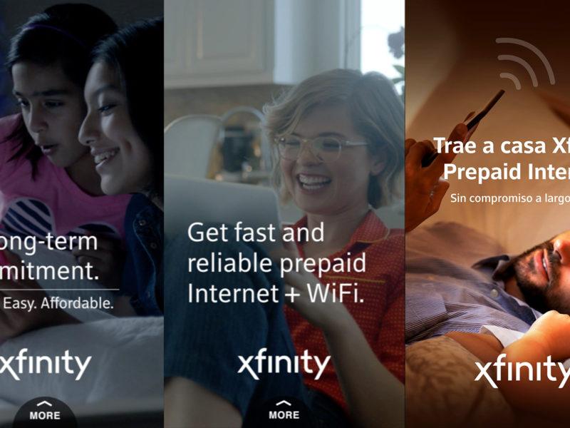 XFINITY Prepaid Snapchat Ads