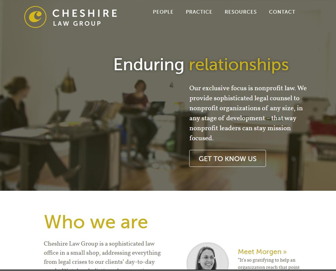 Cheshire Non Profit Law